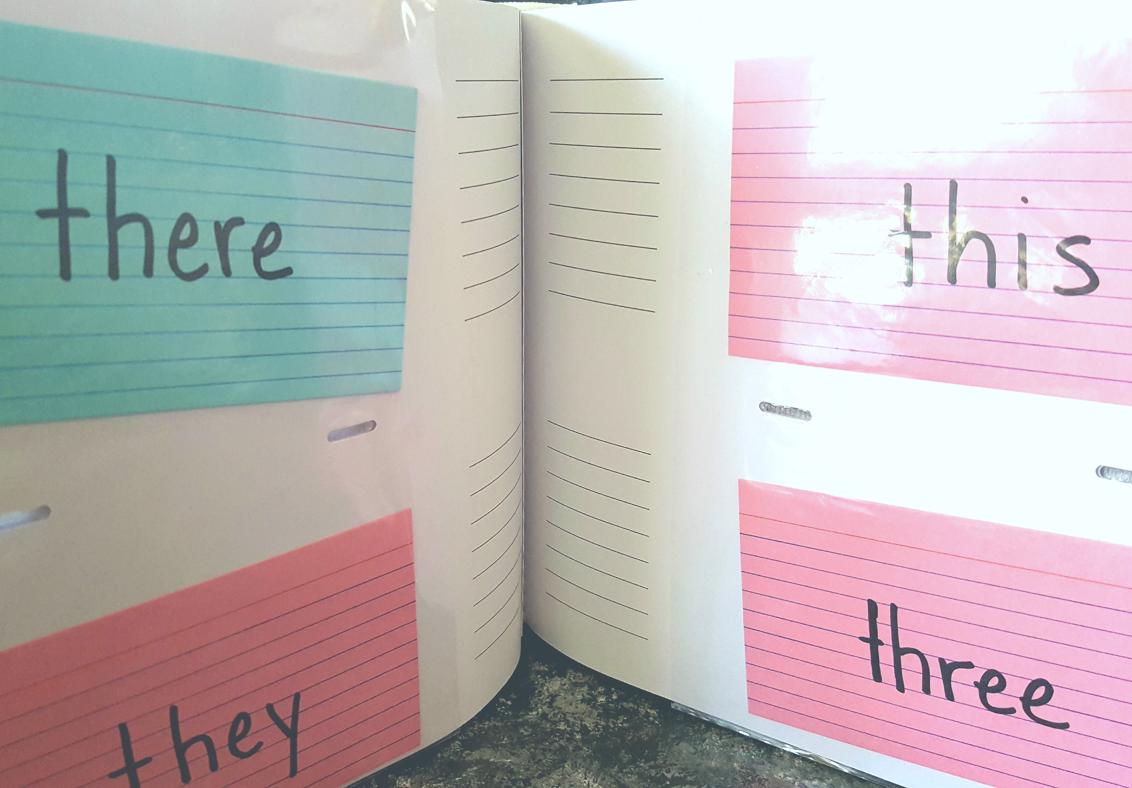 Our Super Simple System for Making Sight Words Easy & FUN! #unschooling #homeschool #kindergarten #myunschoollife